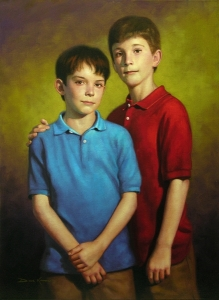 Portrait of James and Will